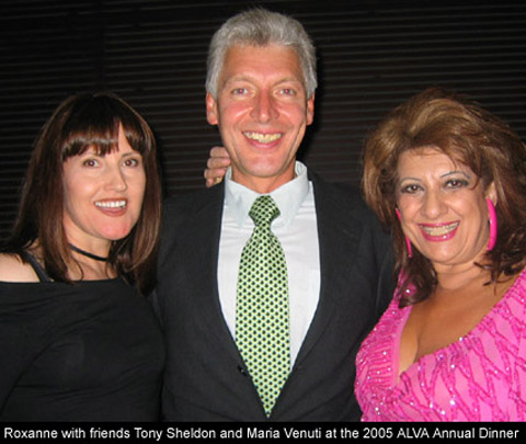 ALVA 05 Party with Tony Sheldon and Maria Venuti